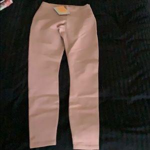Fabletics leggings. Light pink. Xs (2-4)